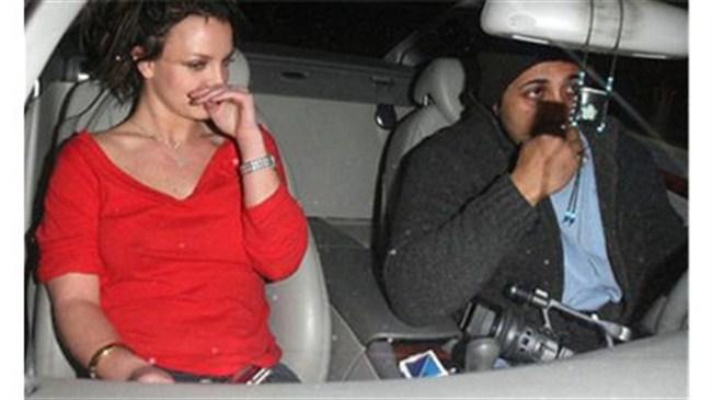 Britney seks yaparken yakalandı!